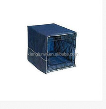 Pet Dreams Casual Cratewear Crate Cover Denim 42""
