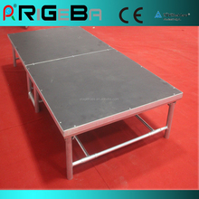 Folding stage light, mobile stage, portable stage
