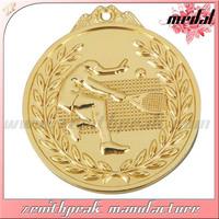 2014 awards medal sport medal 3d design medal,3d custom logo sport medal sport medallion,badminton sport medal