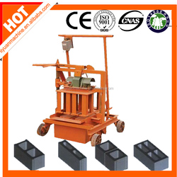 Hot selling QMJ2-45 Block Making Machine Mini with low price