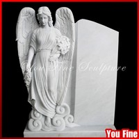 Carved Polish Granite Cheap Tombstone