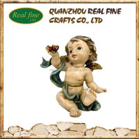 wholesale new product figurines angels from polyresin for home decoration