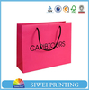 China factory customized printed shopping bag paper