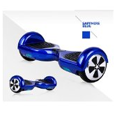 6.5 inch electric scooter io hawk with led light bluetooth remote control self balancing skate board