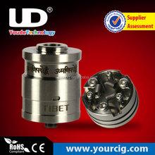 HOT!!! New products china Three coils build available igo w15 RDA TIBET e cigarette