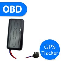 OBD mini waterproof cable gps tracker with sim card gprs gsmfor vehicle car motorcycle e-bike fleet