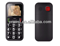 cell elder mobile phone support MP3 / sos / dual sim/ phones with sim cards gsm phone with memory car