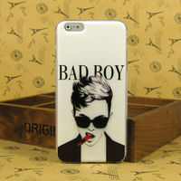 Mobile Phone Case for Men,Soft TPU Rubber Case for iPhone 6 6 plus with Painting Design