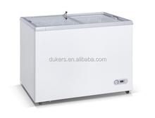 display freezer, showcase freezer, refrigerator freezer