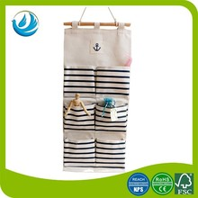 high quality newest cotton canvas hanging shoe organizer