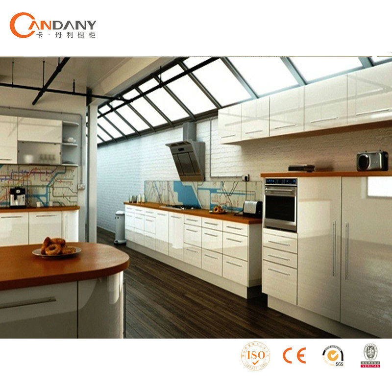 Moderno gabinete de cocina de estilo europeo gabinete de for Gabinetes cocina modernos