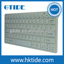 Gtide ultra-thin wireless keyboard and mouse designs with keyboard letters
