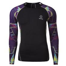 2015 nuevos hombres de moda deportiva de gimnasio de secado rápido de la ropa M-3XL