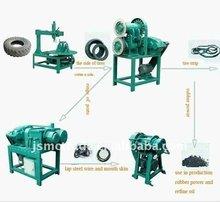 waste tyre cutting machine/reclaim rubber machine