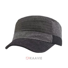 china online shopping fashion Men's winter knit flat military hat