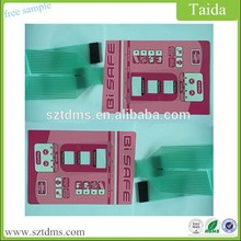 Electronic Membrane Switch Connector Digitally Printed Graphic