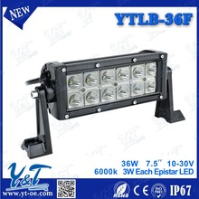 7.5 inch Stroboflash Single Stack LED Light Bar with Wireless Remote Control for Truck / Trailer / OffRoad / Car / Motorcycle