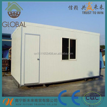 20ft and 40ft prefab mobile homes to be camp supplier