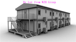 Customized Oil Field Camp as Meeting Room/Kitchen/Dining Room/Bedroom/Warehouse/Work Office
