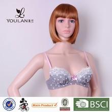 Hot Selling Moder Stylish Cute Girl Back Closure Sexy Bra Panty Set Images