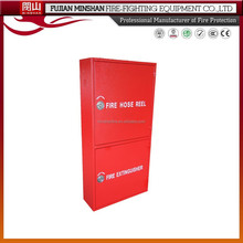 fire hose reel cabinet with stainless steel door fire protection cabinet