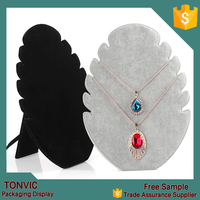 New Arrival Tree Sharp Soft Velvet Necklace Jewelry Display
