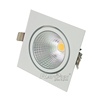 82lm/w dimmable cob bridgelux led down light 20w 30w 40w square round fixture