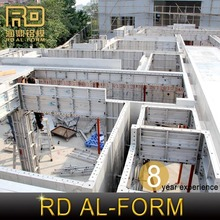 RD high Attractive aluminum formwork instead of formwork wedge