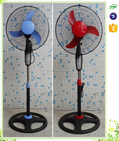 CE approval standing electric fan cooling pedestal fan commercial stand fan specification