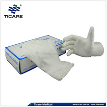 new PVC gloves in hospital