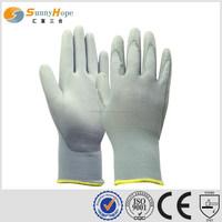 sunnyhope Uline Polyurethane Fine Nylon Gloves