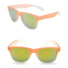 Orange nerd geek sunglasses UV400
