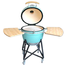 Glazed Finishing Round Shell BBQ Charcoal Grill