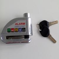 Latest design Waterproof alarm steering lock motorcycle
