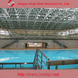 Prefabricated Galvanized Light Steel Space Frame,Steel structure materials