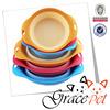 Grace Pet Silicone frisbee rubber folding dog bowl