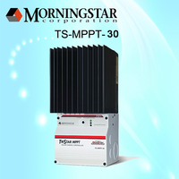 Morningstar tristar intelligent price mppt solar cell charge/charger controller/controler 30a 12v 24v 48v