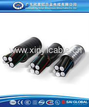 Exporting to USA for 10 years china supplier aluminum alloy power cable with UL