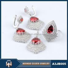 2015 new design copper jewelry set