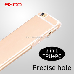 EXCO 2016 wholesale Soft TPU+hard PC mobile phone cases phone mobile cover mobile accessories cell phone cover for iPhone6s
