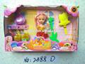 Precioso pequeño bebé juguetes de la muñeca de China mercado mayorista de Yiwu By 2588D
