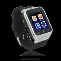 2015 fashion Android bluetooth smart watch mobile phone
