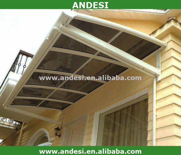 Abri toit en plastique pour le balcon auvents id du for Fenetre de toit balcon