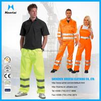 Hi-vis coverall&work pants&bib brace reflective workwear