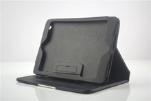 Promotion 360 protection leather tablet cover case for ipad mini