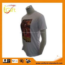 2015 wholesale high quality cotton round neck make your own t shirt cheap