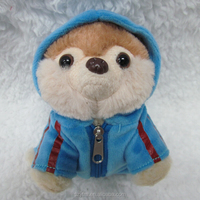 Cuddly Mini Fox Figurine Unique Gift Cute Fox Plush Toy with Hat