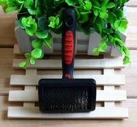Easy cleaning pet brush for dog hair grooming
