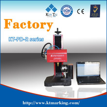 CE, FDA, ISO approved! Factory! 9 years produce experience! Wholesales! Pnuematic metal marking machine for rotory marking!