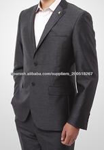 gris acero trajes para hombres